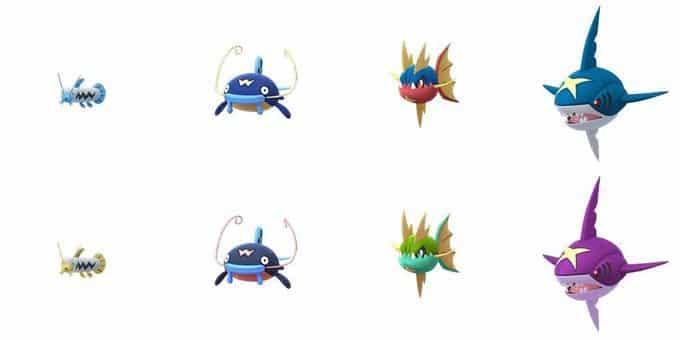 Pokemons Shiny
