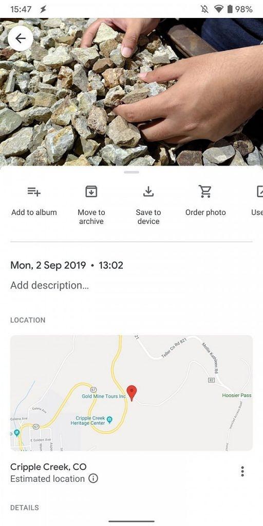Novo Google Fotos