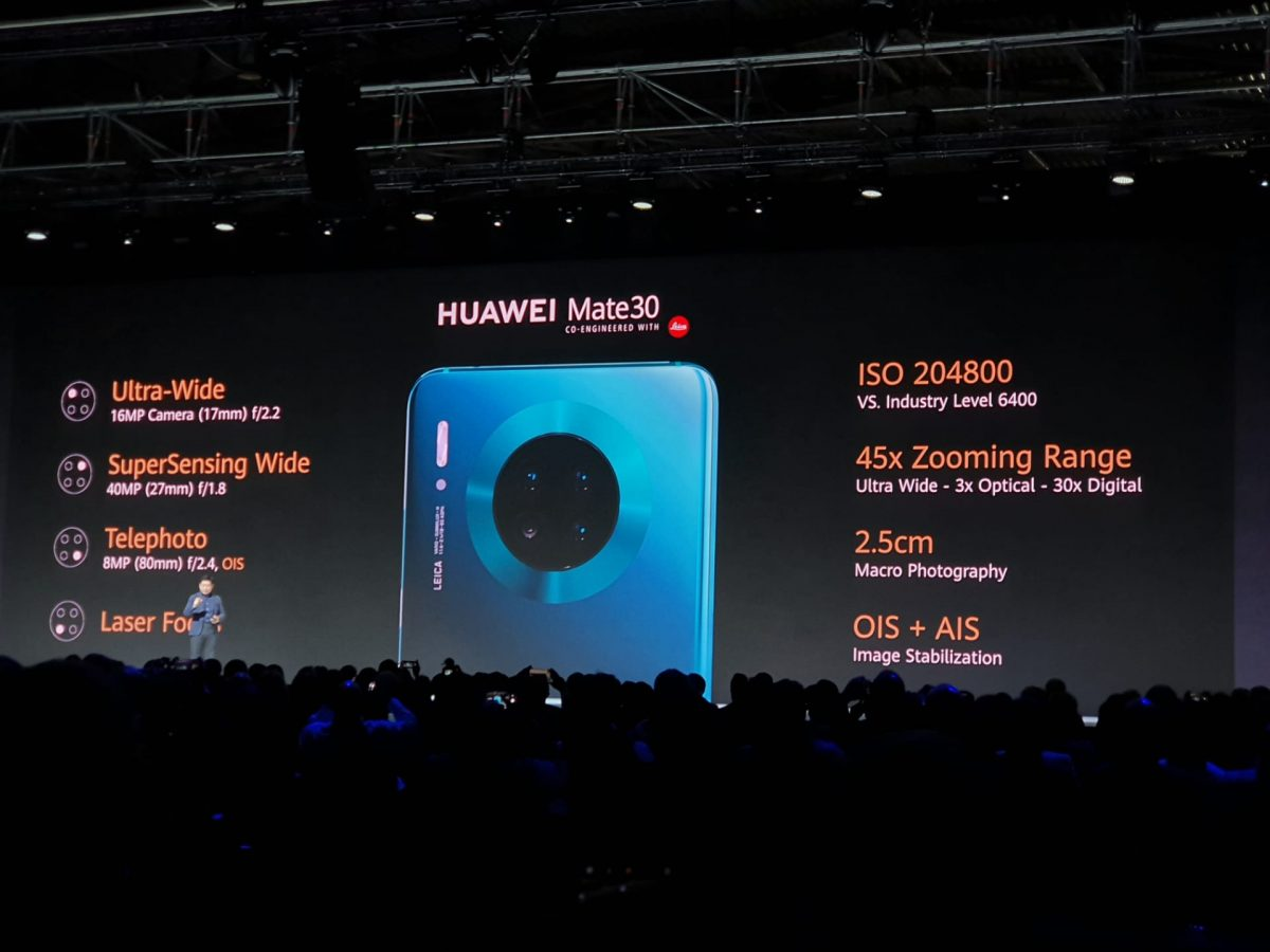 Apps no Huawei Mate 30