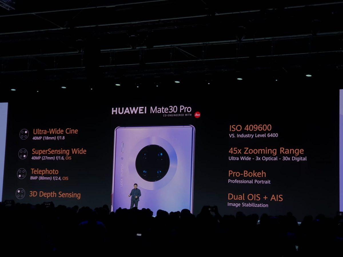 update para o Huawei Mate 30 Pro