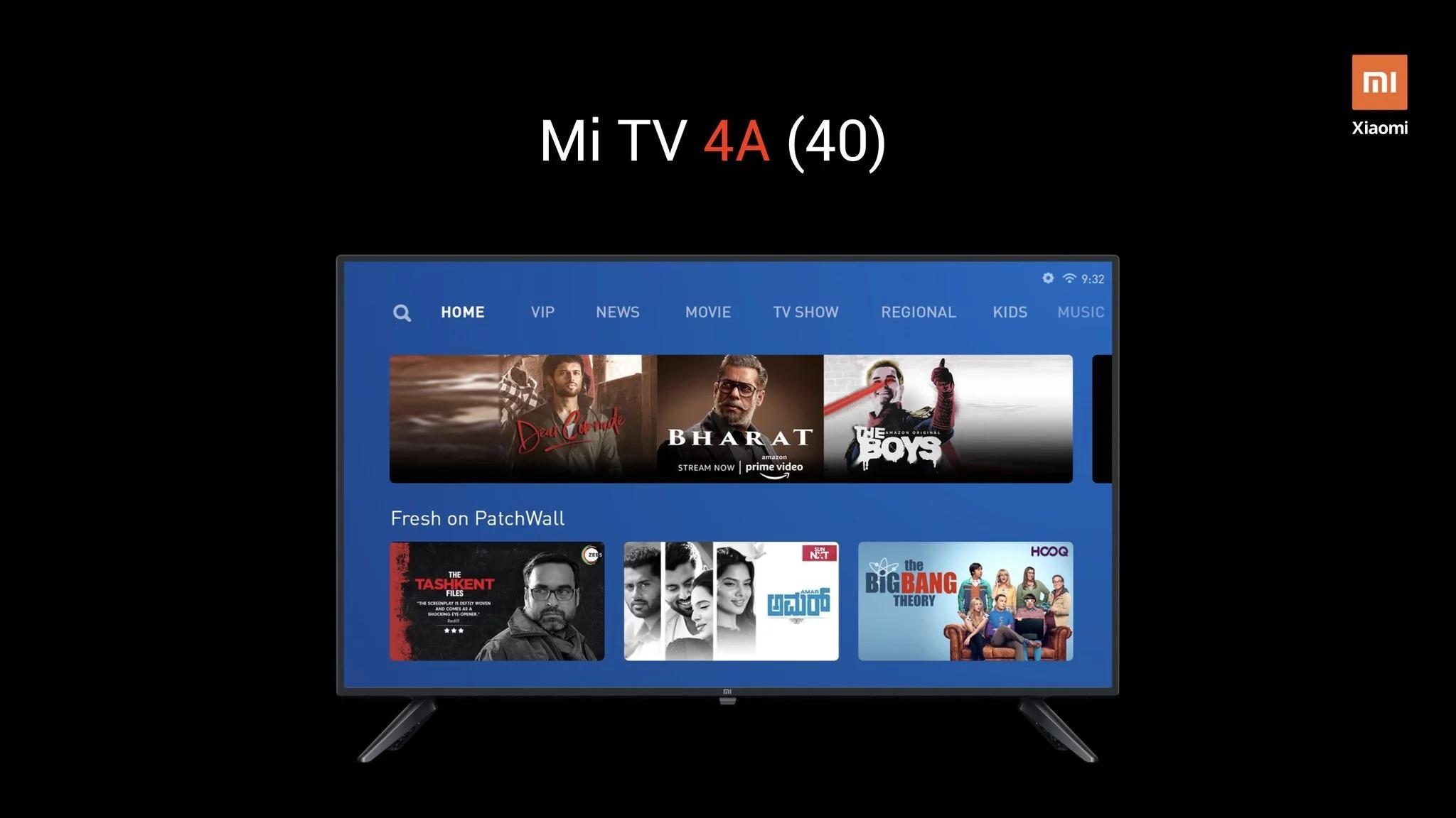 novas Mi TV
