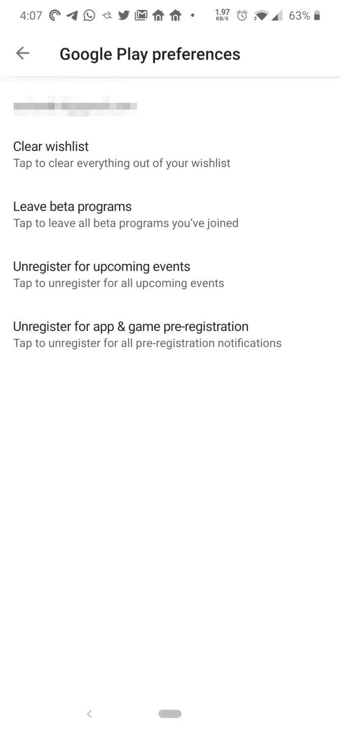 Google Play Store já
