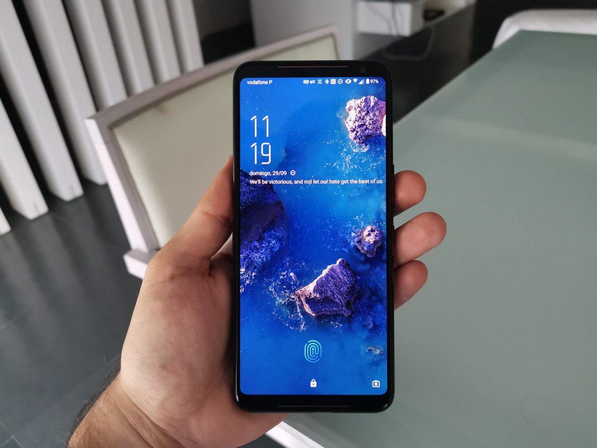 ROG Phone 2 ecrã
