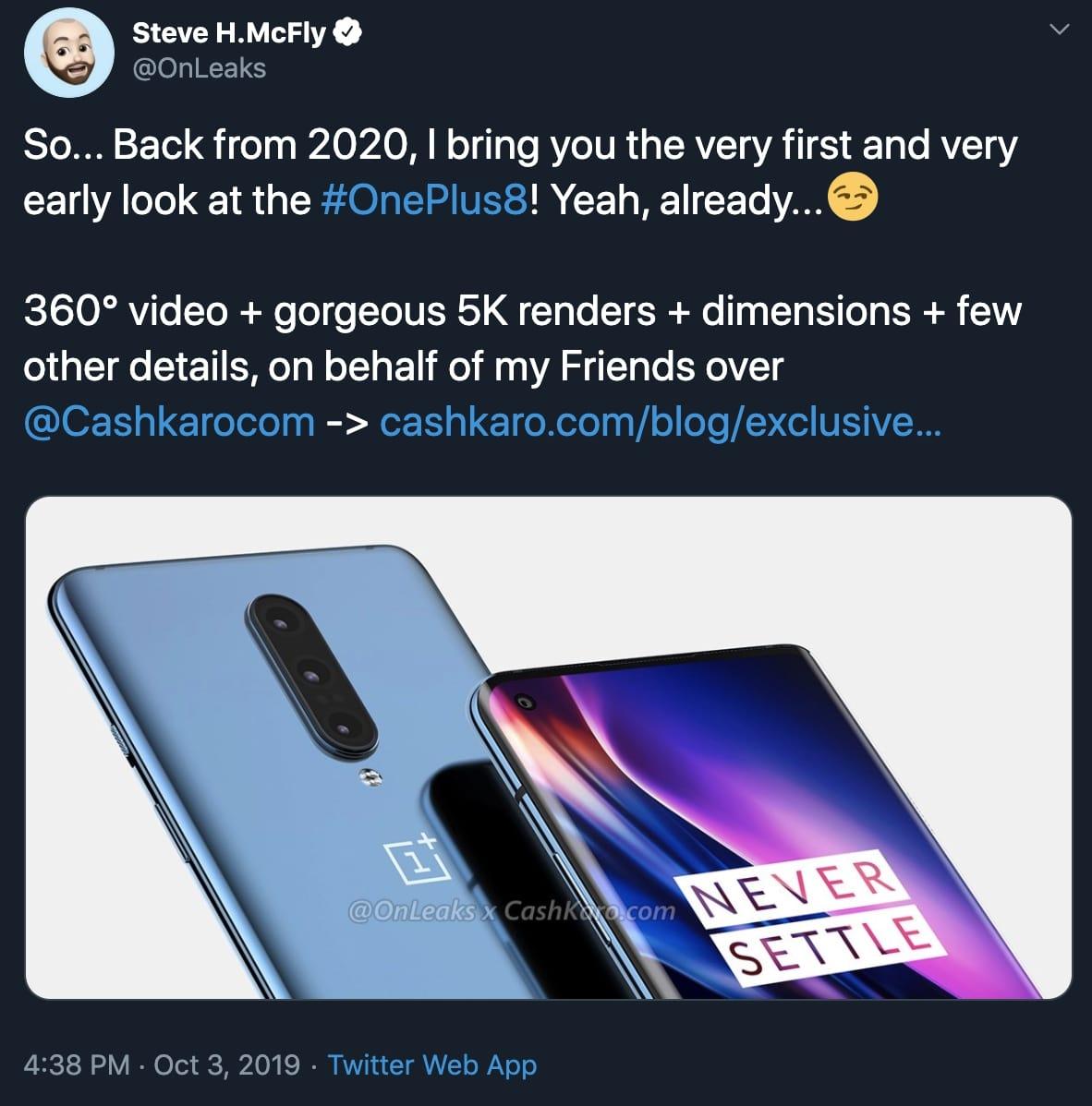 OnePlus 8!