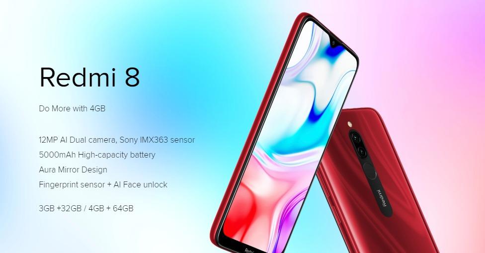 Xiaomi Redmi 8: