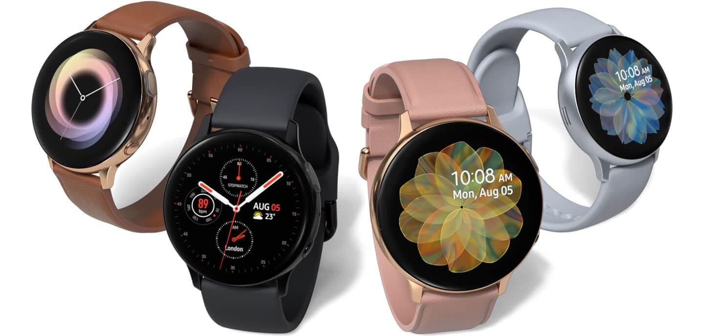 electrocardiograma no Galaxy Watch Active