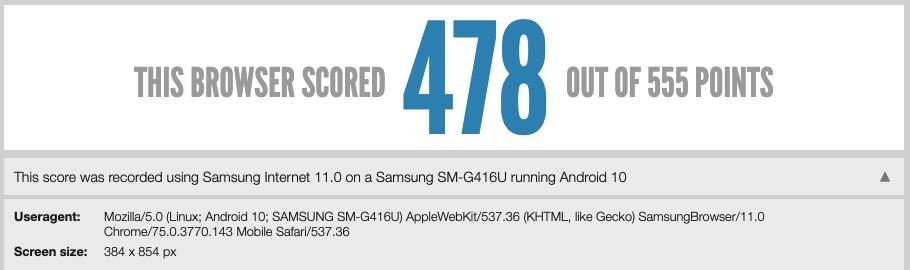 O Samsung Galaxy S11