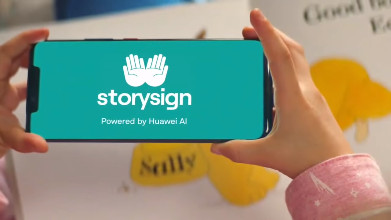 Story sign