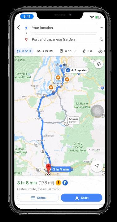 Google Maps tem novidades