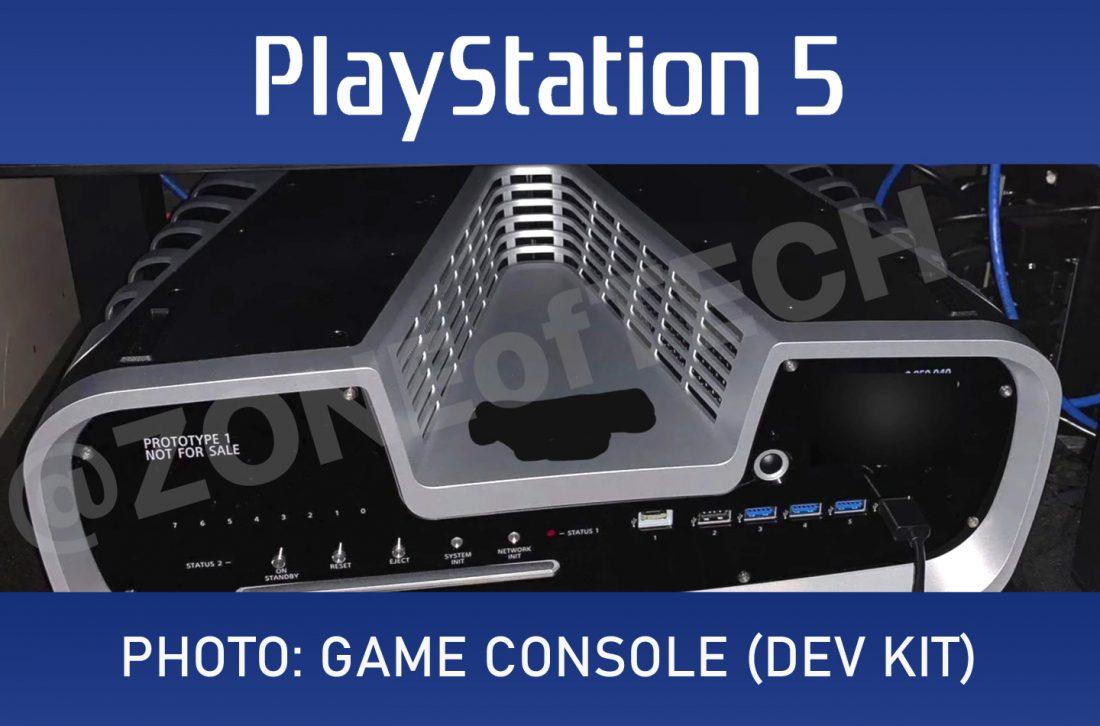 o design da PS5