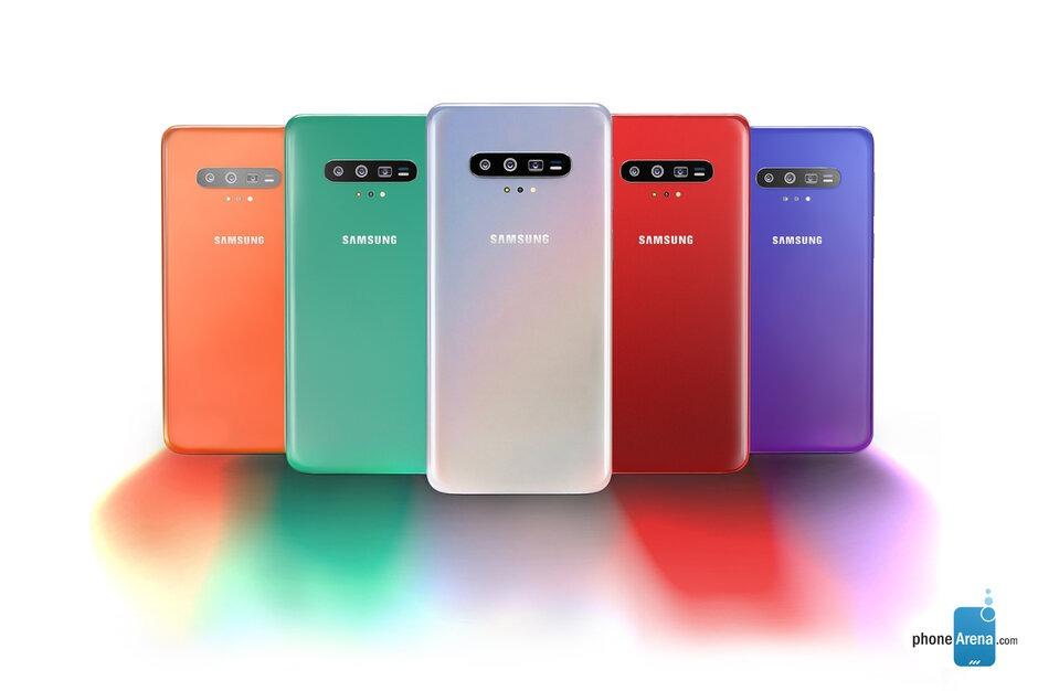 Design do Samsung Galaxy S11