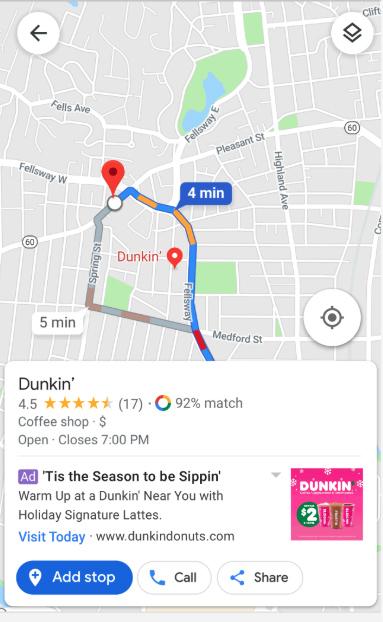 Google Maps tem uma