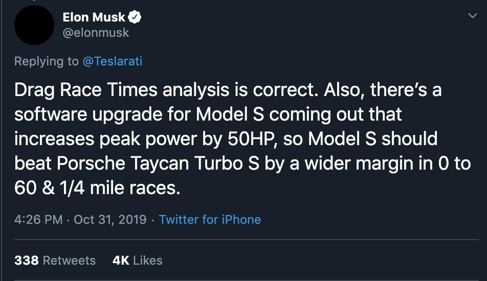 Model S -