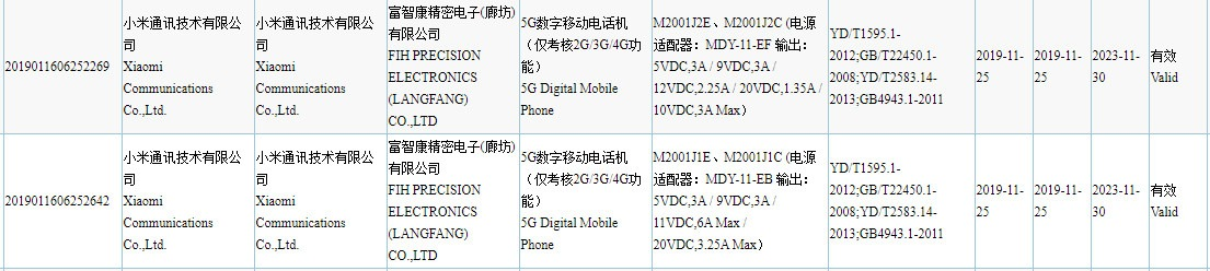 smartphone Redmi 5G