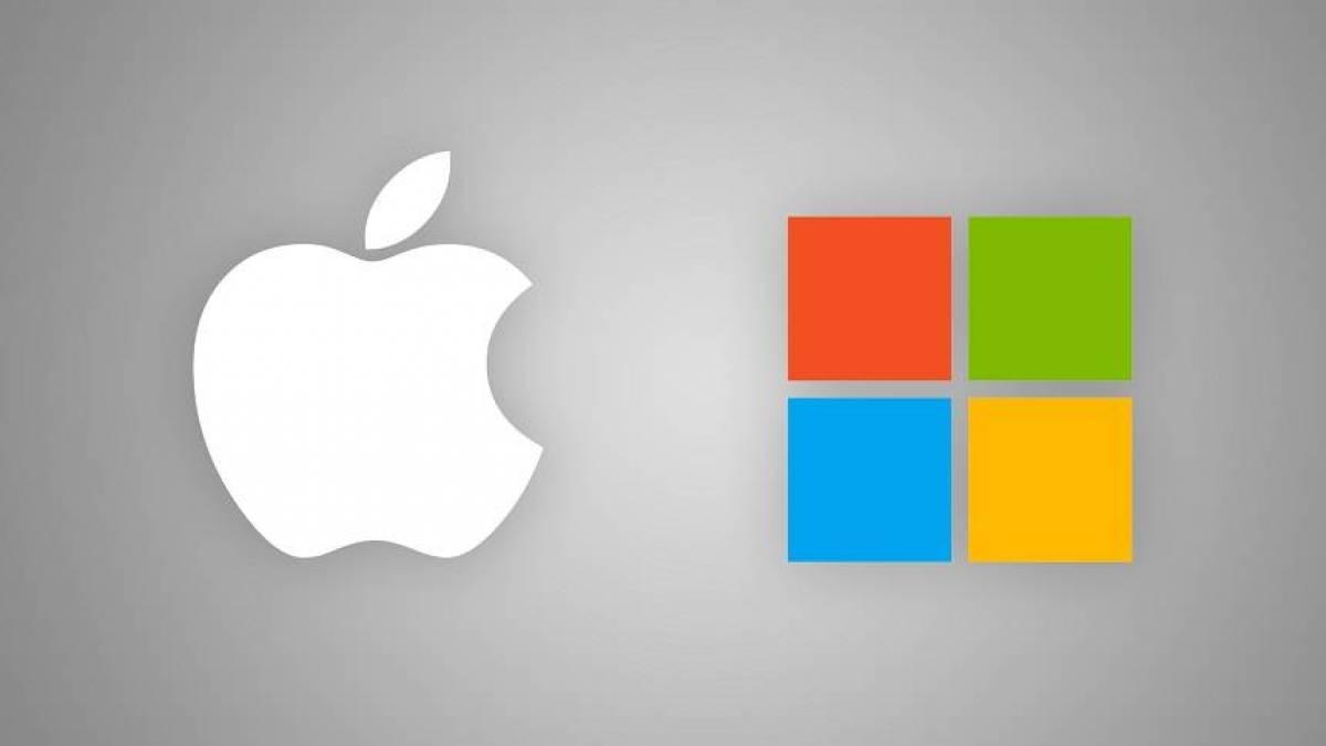 Apple, Microsoft