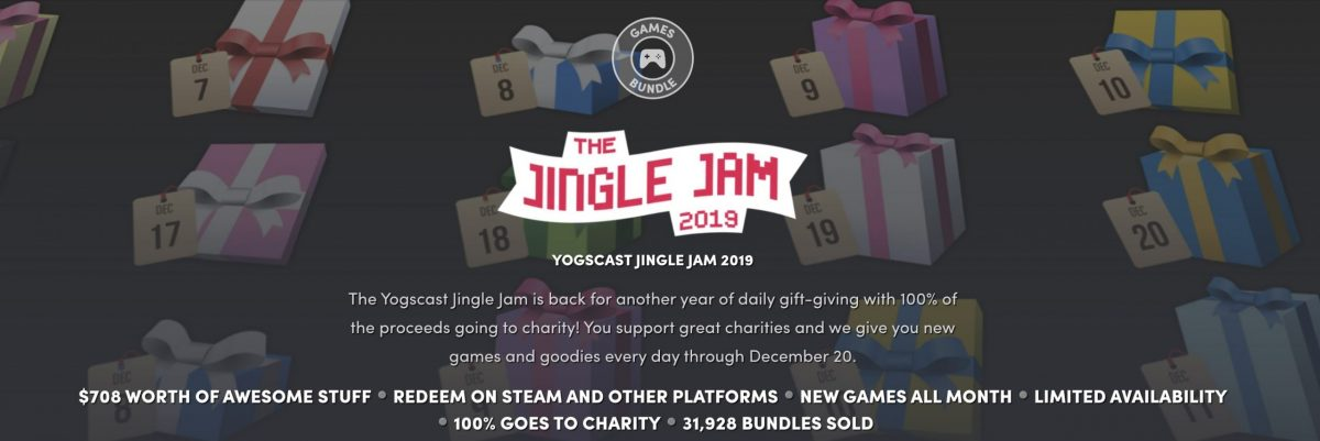 Jingle Jam, Humble Bundle