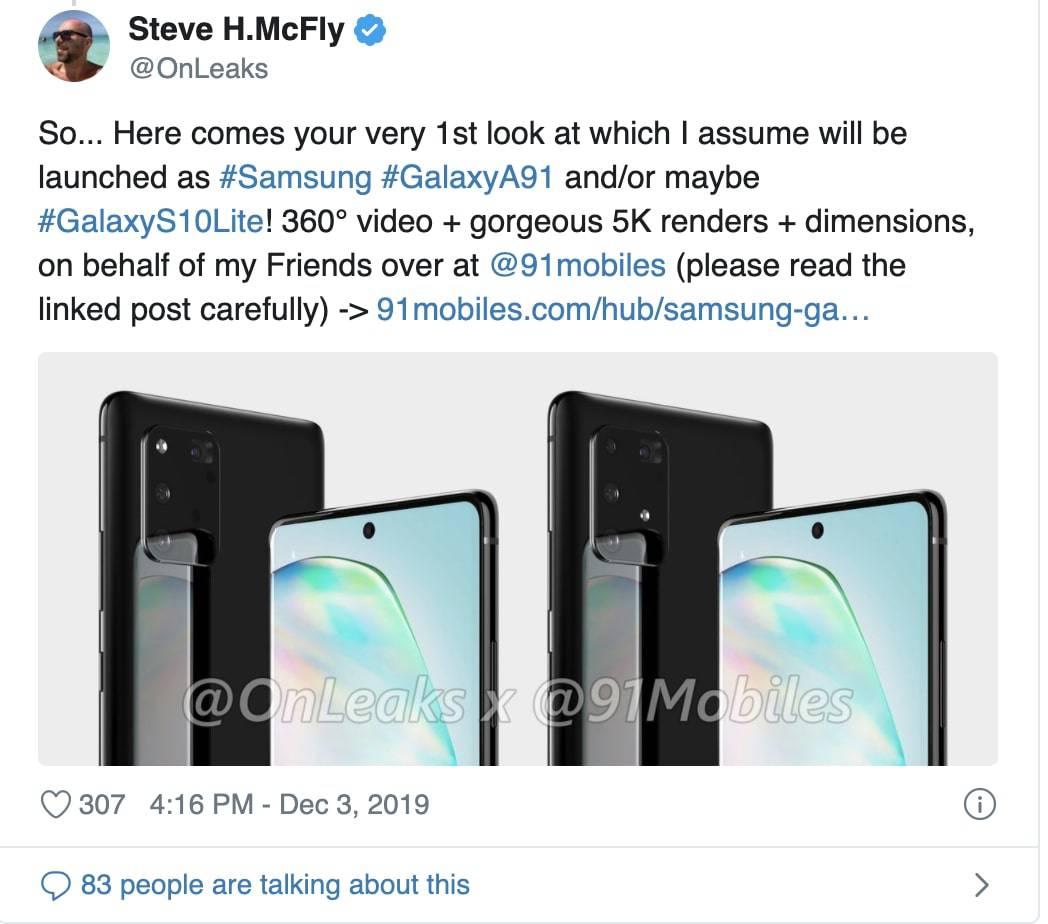 do Samsung Galaxy S11!