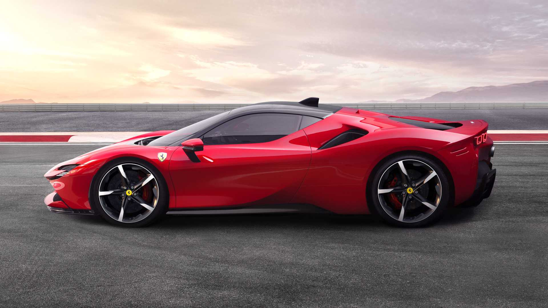 Elétrico da Ferrari