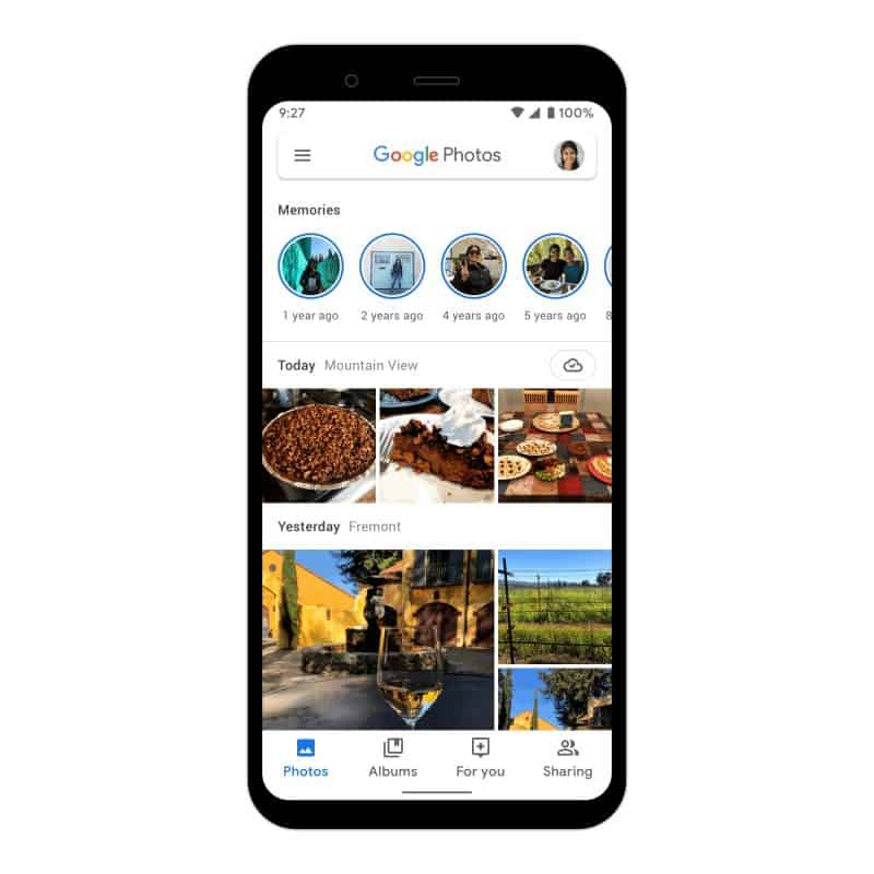 Google Fotos para Android ganha