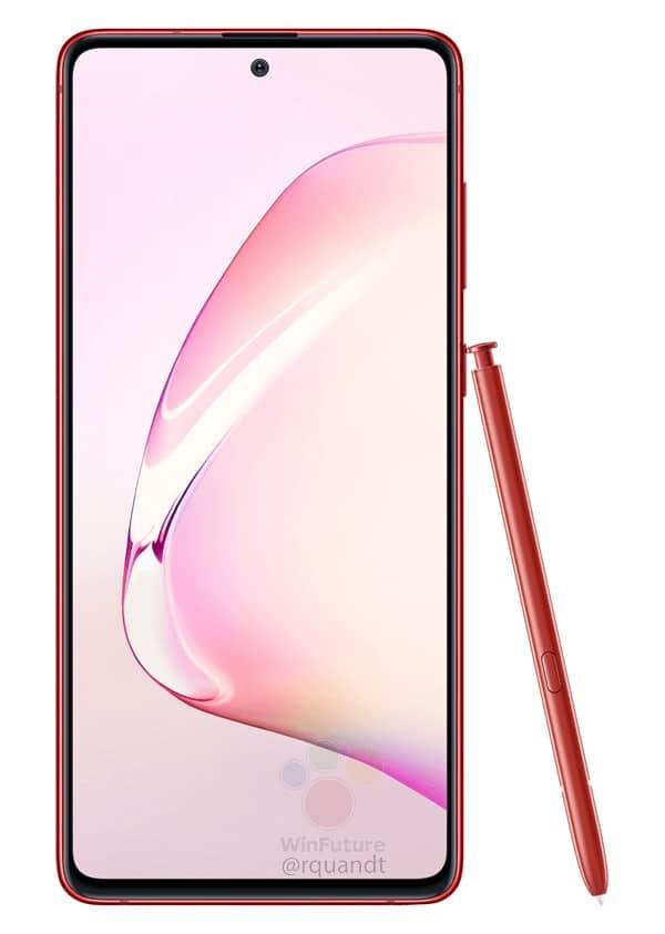 Galaxy Note10 Lite: