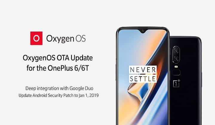 Android 10 para o OnePlus 6T