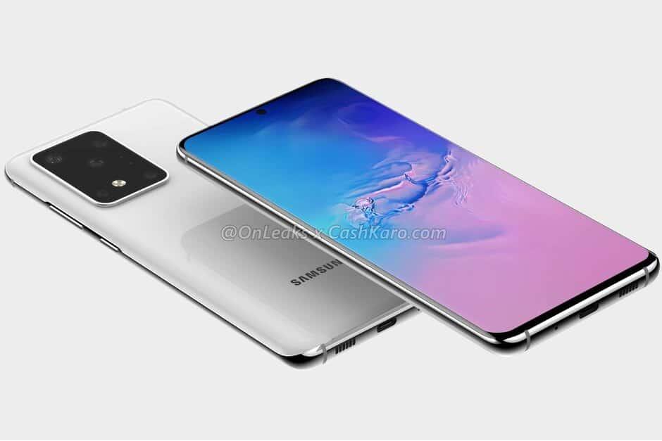 Novos Galaxy S20