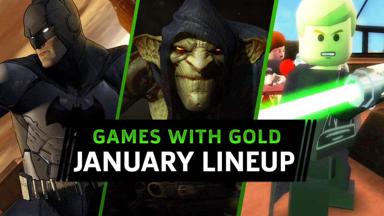 Games with Gold Janeiro
