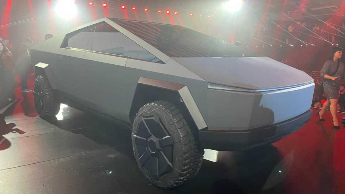 O Tesla Cybertruck