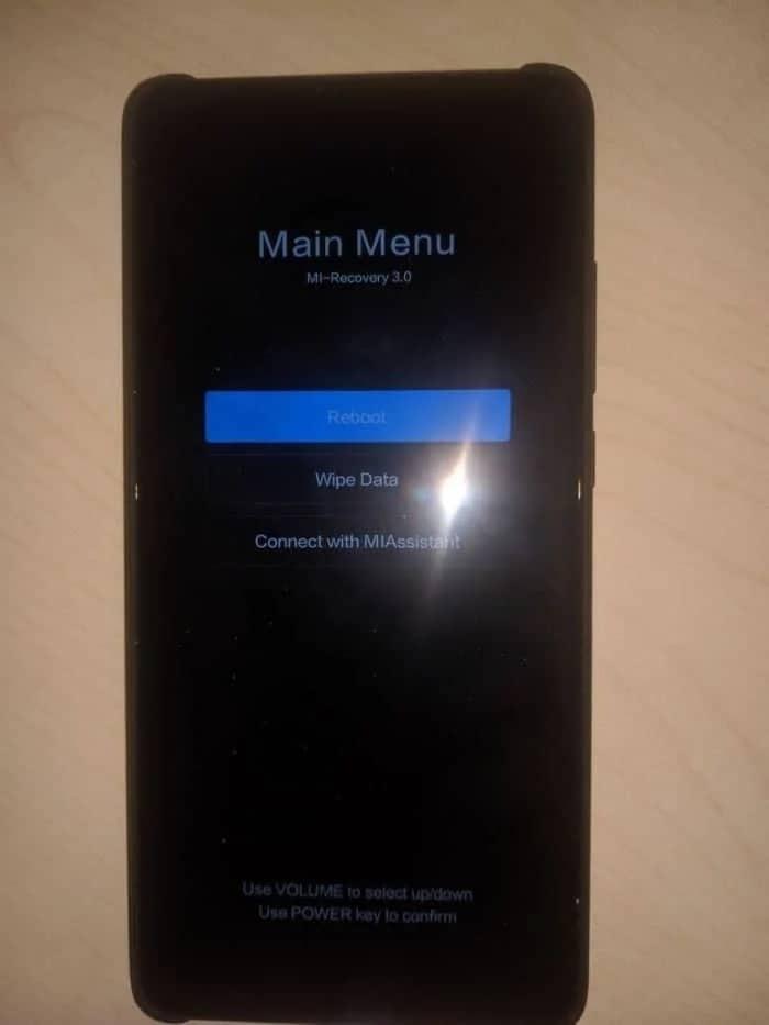 um smartphone Xiaomi