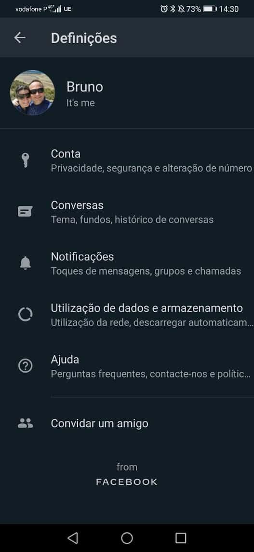 WhatsApp contas