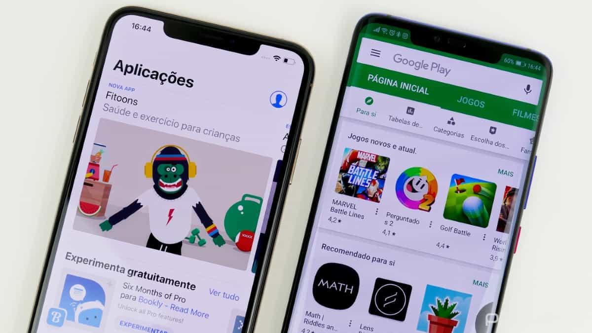 App Store e Google Store