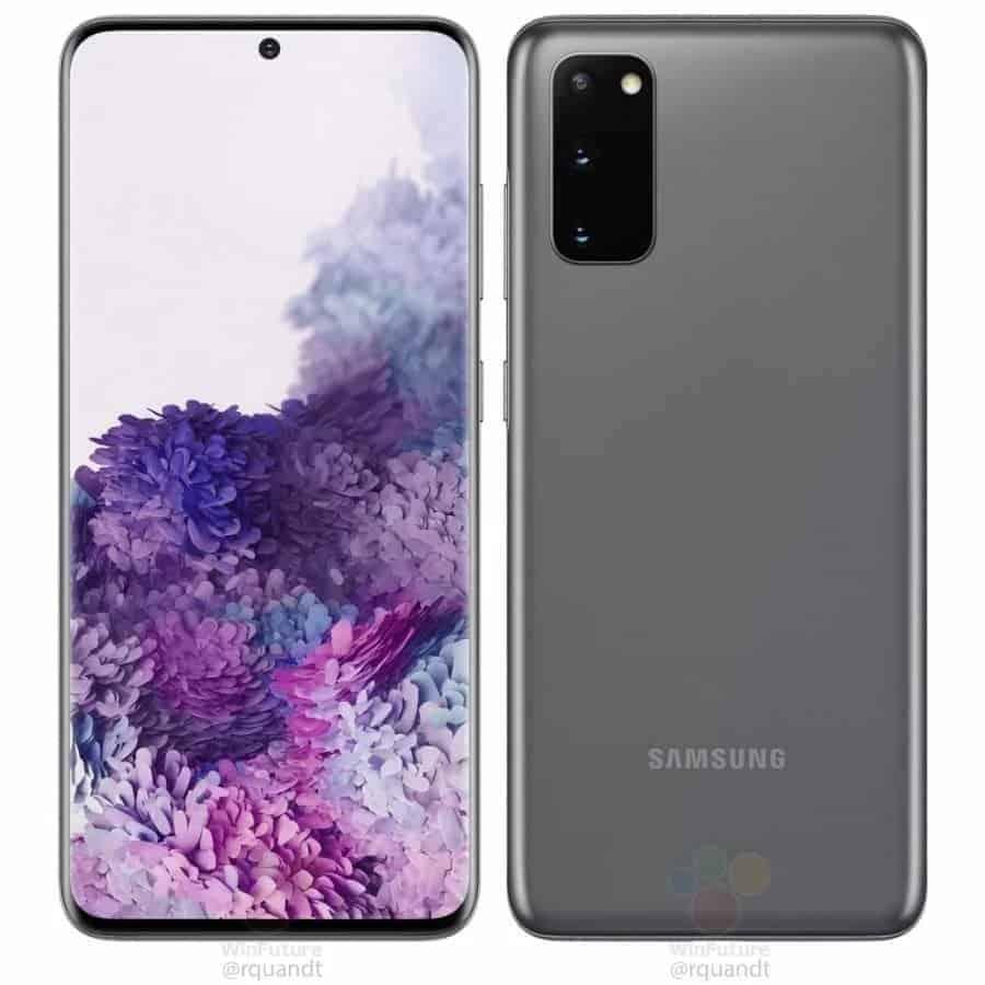 preços do Galaxy S20