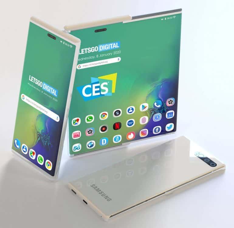 Samsung slide-out