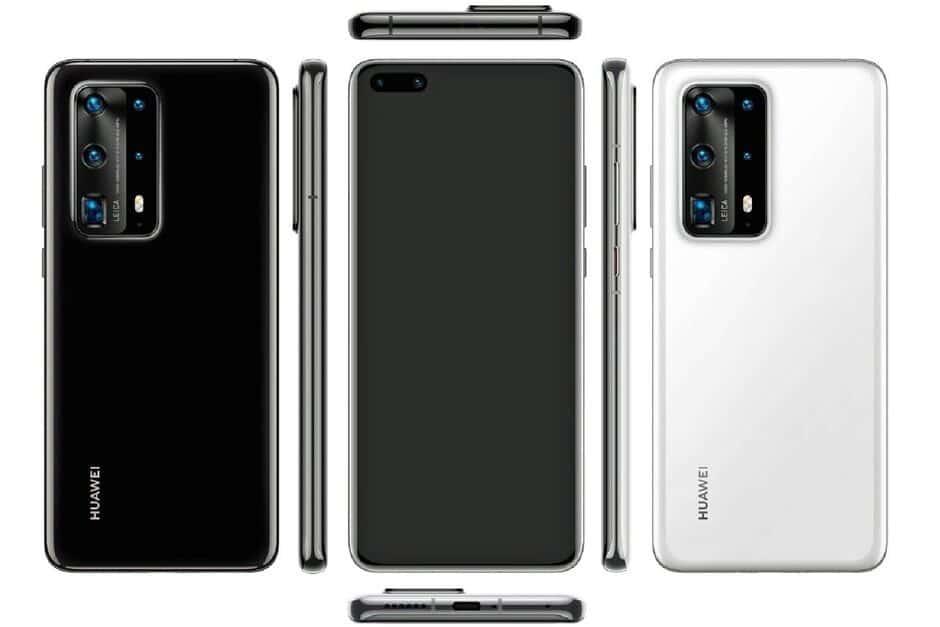 Huawei P40 Pro Premium Edition mega-leak reveals the cameras!