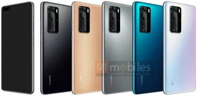 Huawei P40 e