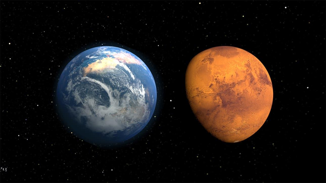 tesouro em Marte