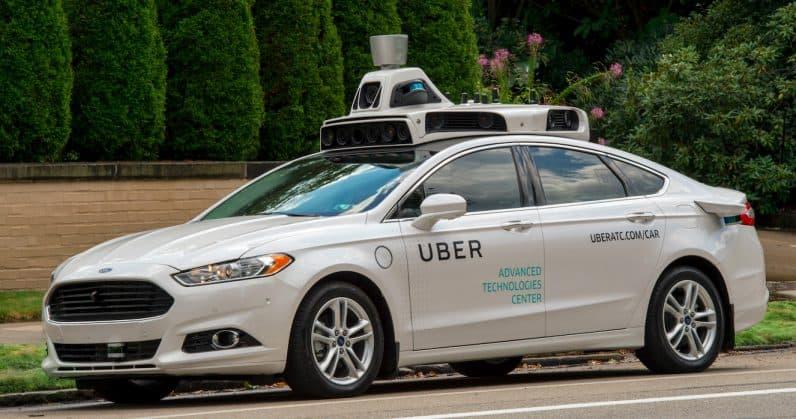 Uber carros autónomos