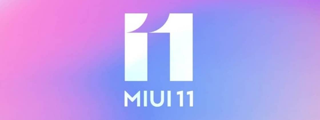 o MIUI 11 e