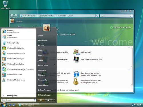 Windows Vista foi