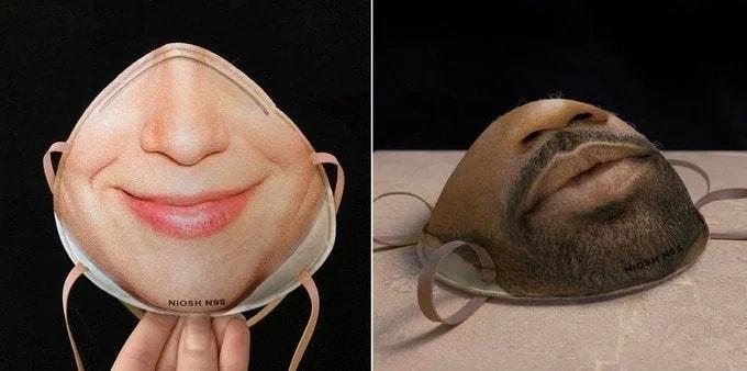 máscaras compatíveis