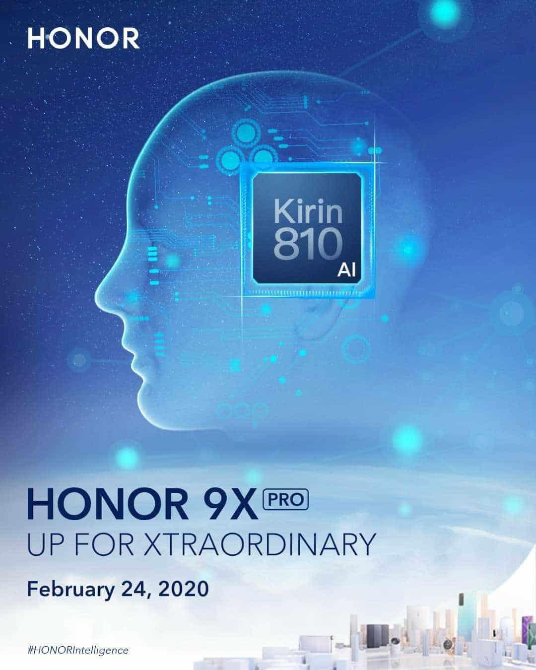 Honor 9X Pro.