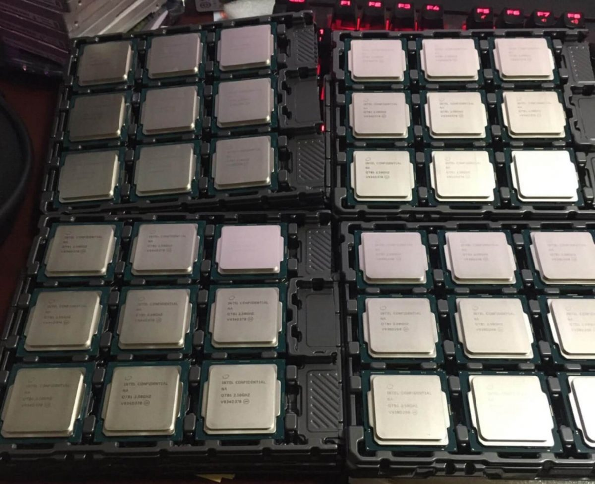These are the first Intel Core 10000 CPUs to hit the market!