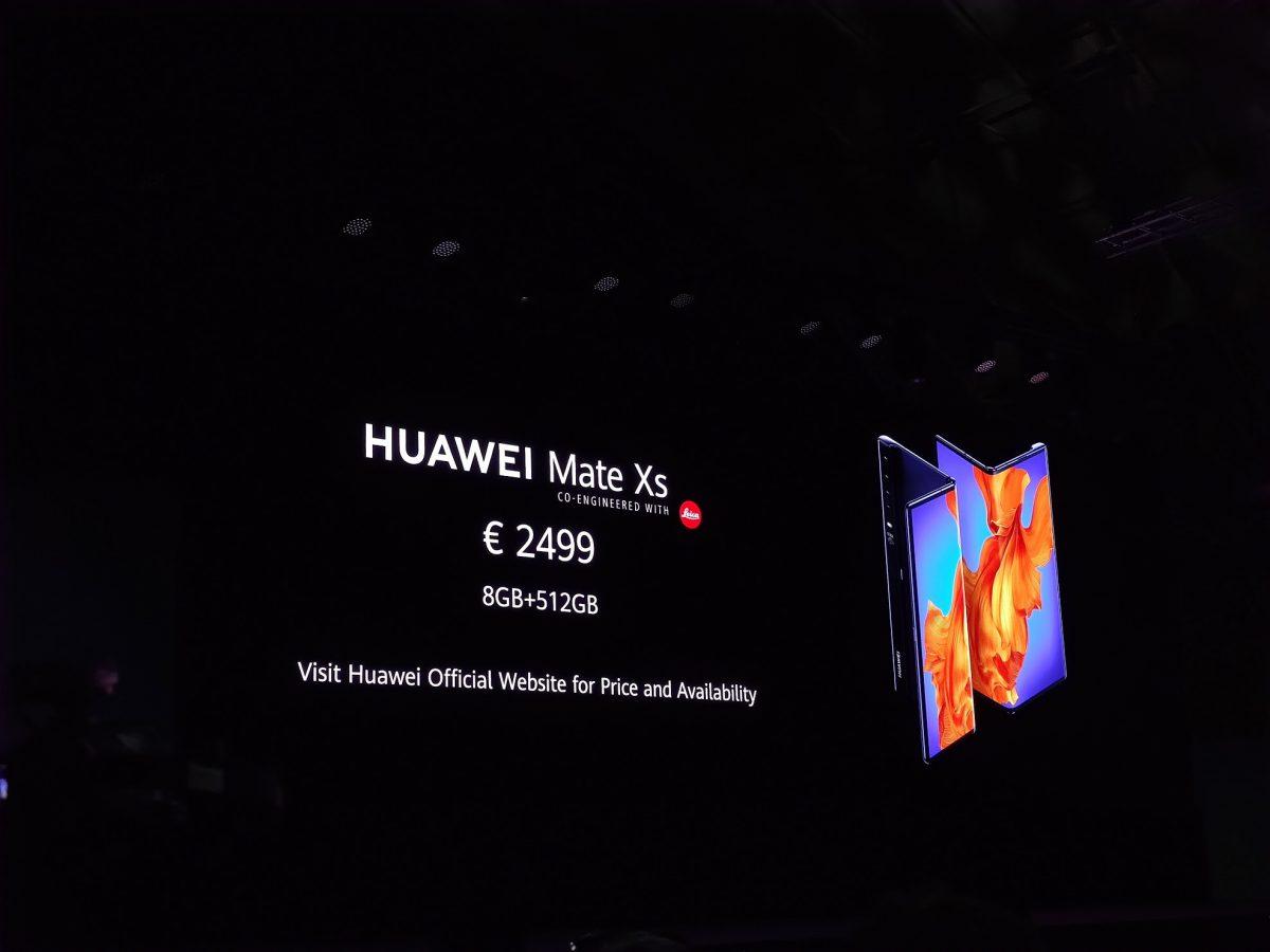 Película do Huawei Mate Xs