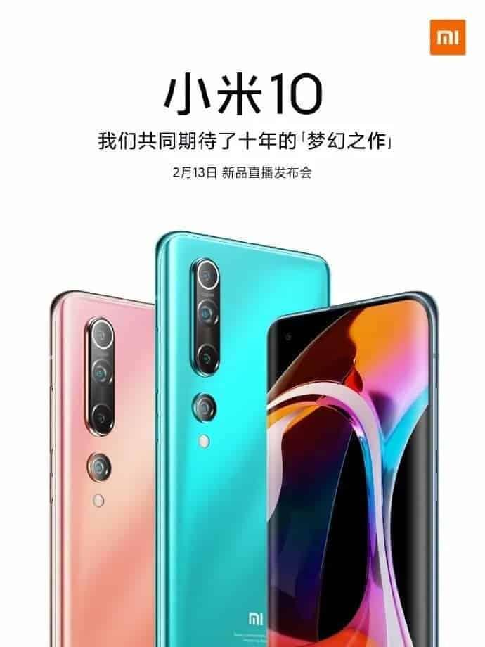preços do Xiaomi Mi 10