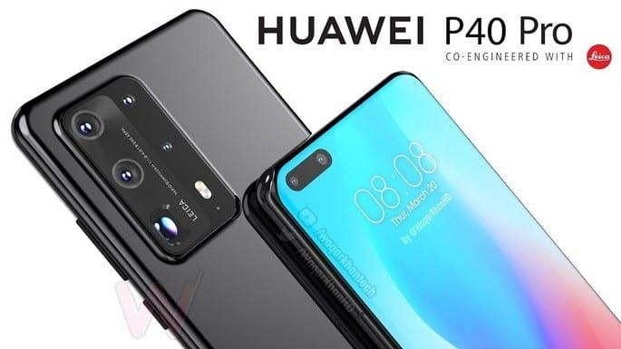Câmara do Huawei P40 tem
