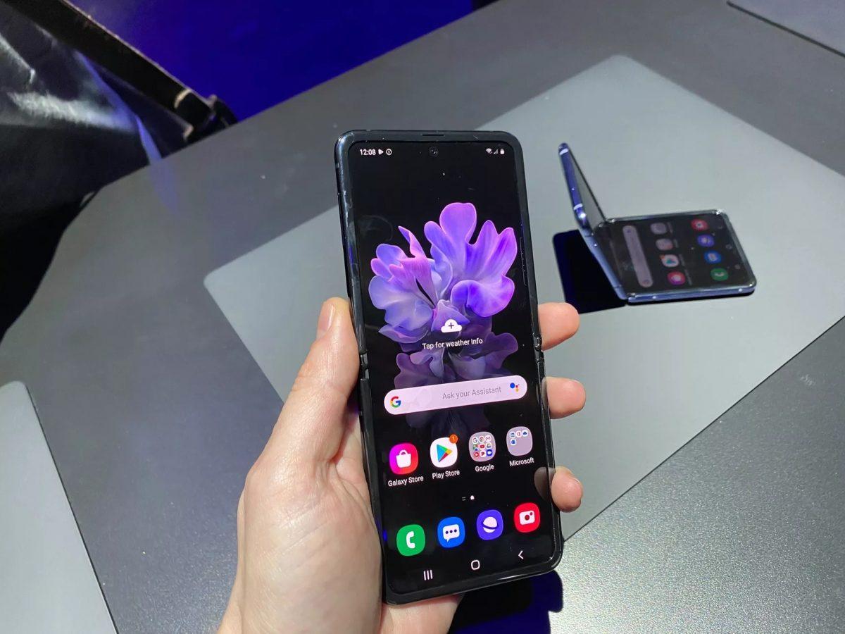 Galaxy Z Flip é um