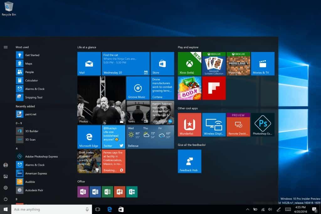 Windows 10 1 bilião