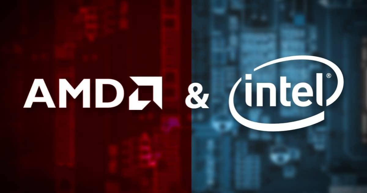 AMD vs Intel, AMD, Intel, CPU