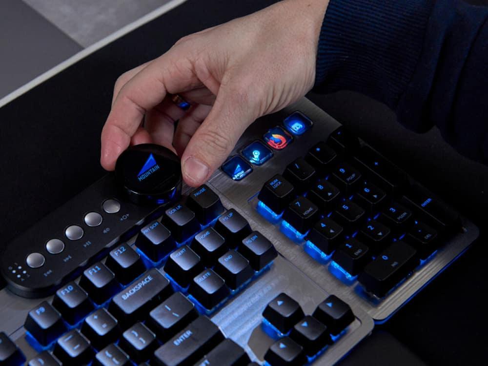 Mountain Everest Modular Keyboard was successful on Kickstarter!