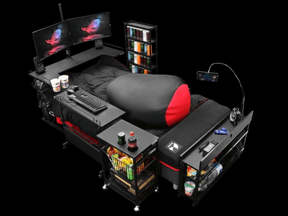 Want a Gaming Chair? Why not a Gaming bed?